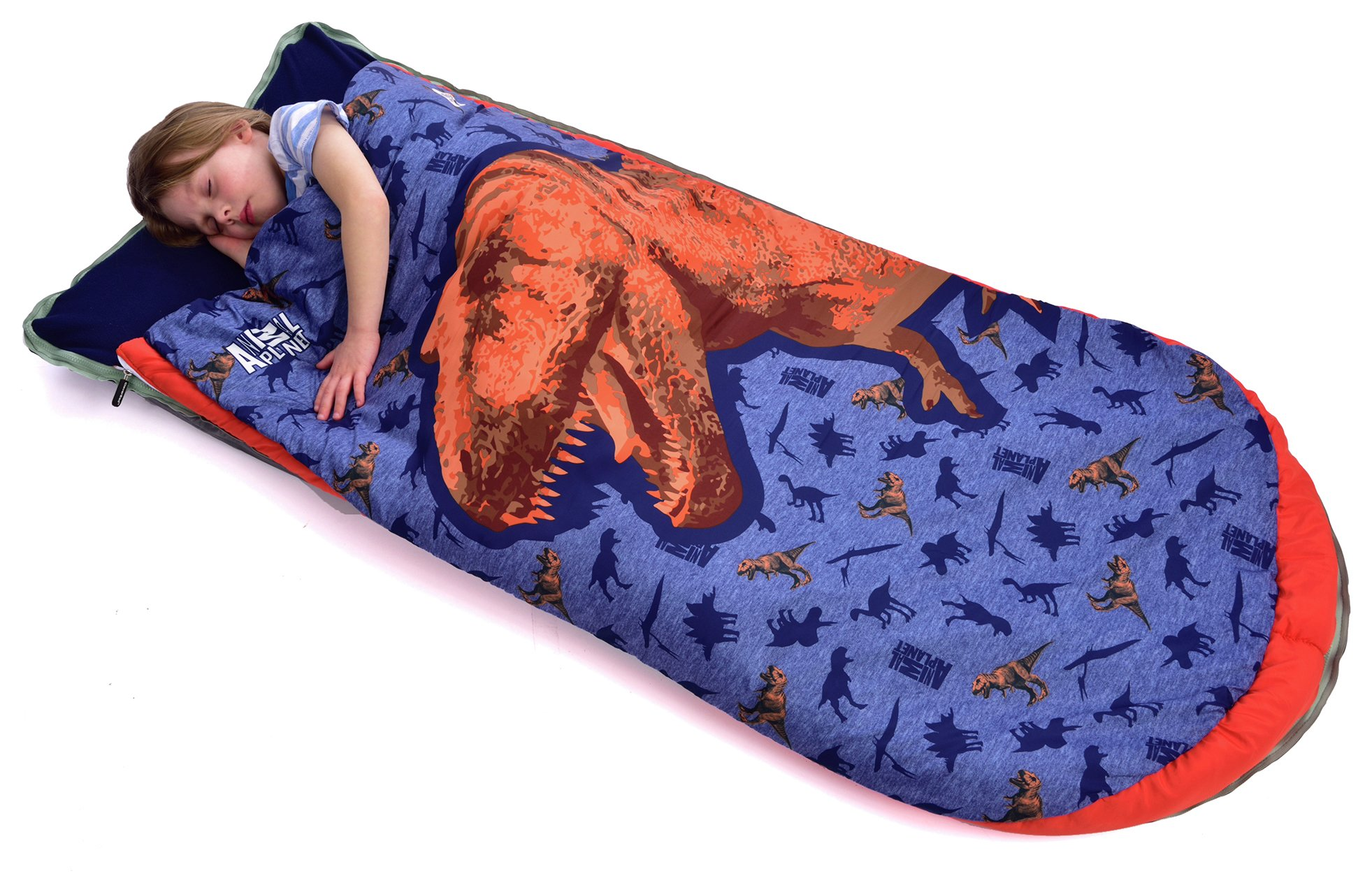 Image of Animal Planet - Dinosaur Cleverbed Sleeping Bag - Airbed