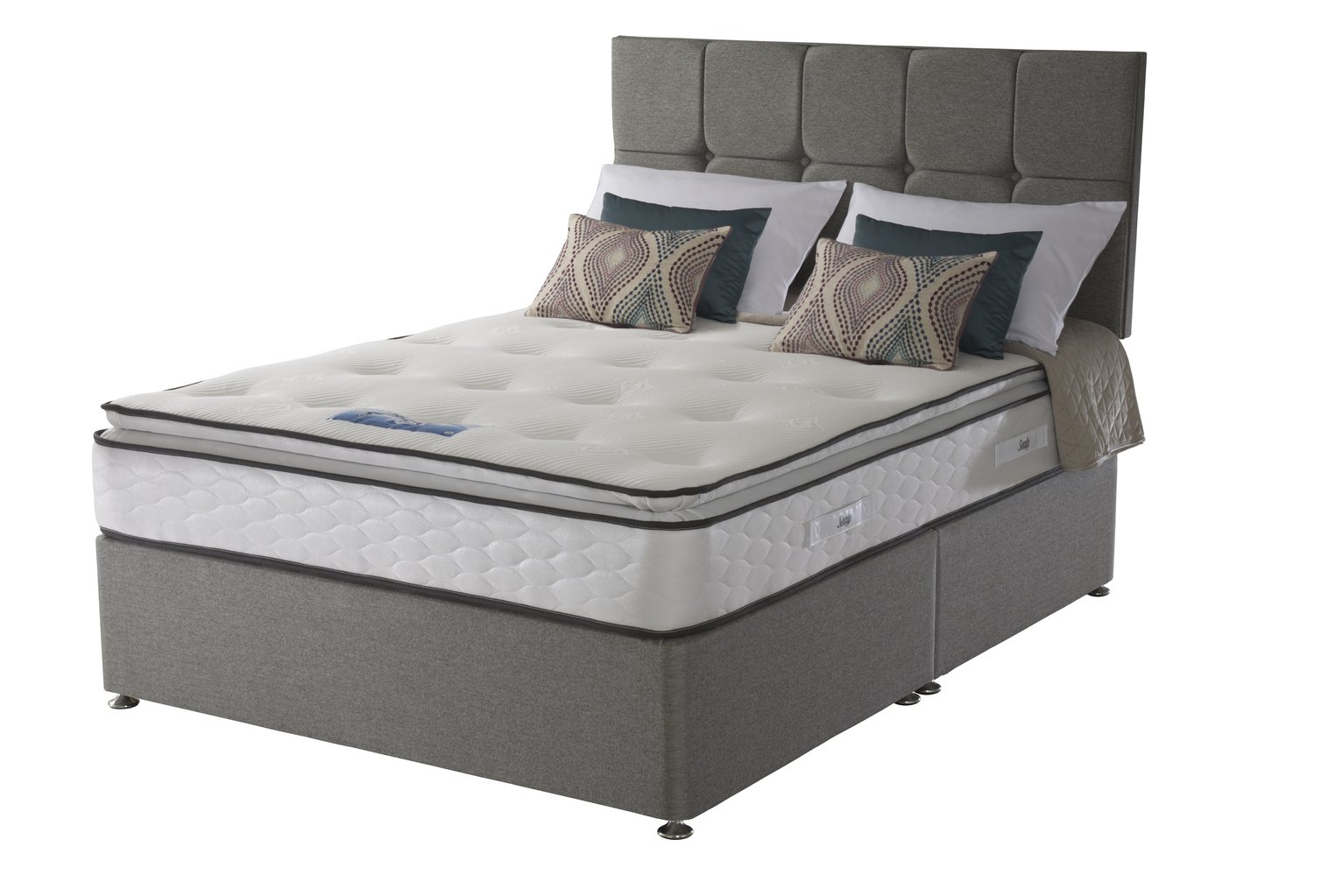 Sealy 1400 Pocket Memory Pillowtop Kingsize Divan