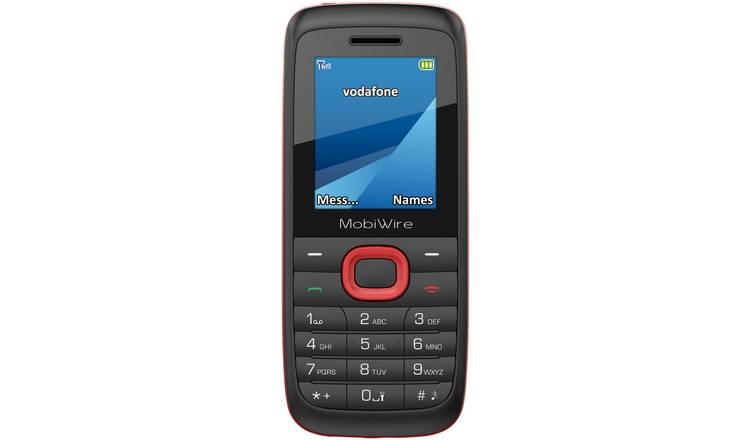 Buy Vodafone Mobiwire Ayasha Mobile Phone | Pay as you go phones | Argos