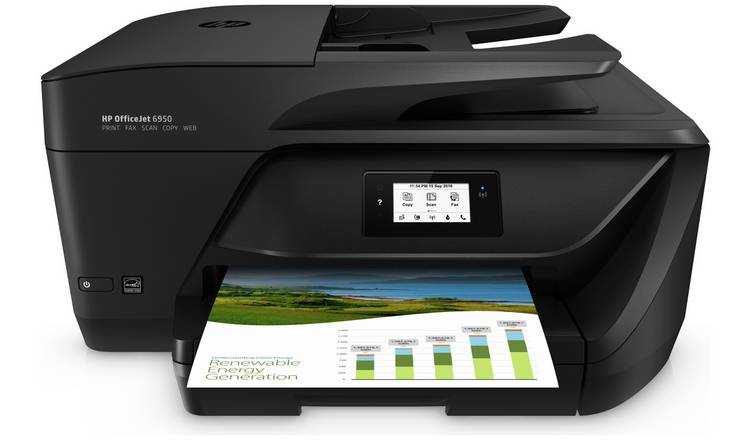 Buy HP OfficeJet 6950 Wireless Printer & 2 Months Instant Ink | Limited  stock Technology | Argos