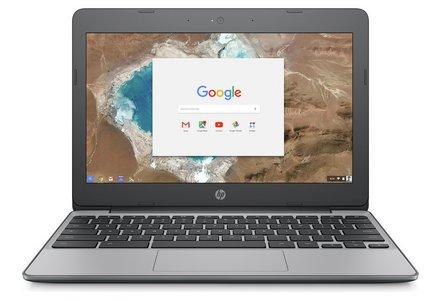 HP Chromebook 11.6 Inch Intel Celeron 2GB 16GB Laptop - Grey.