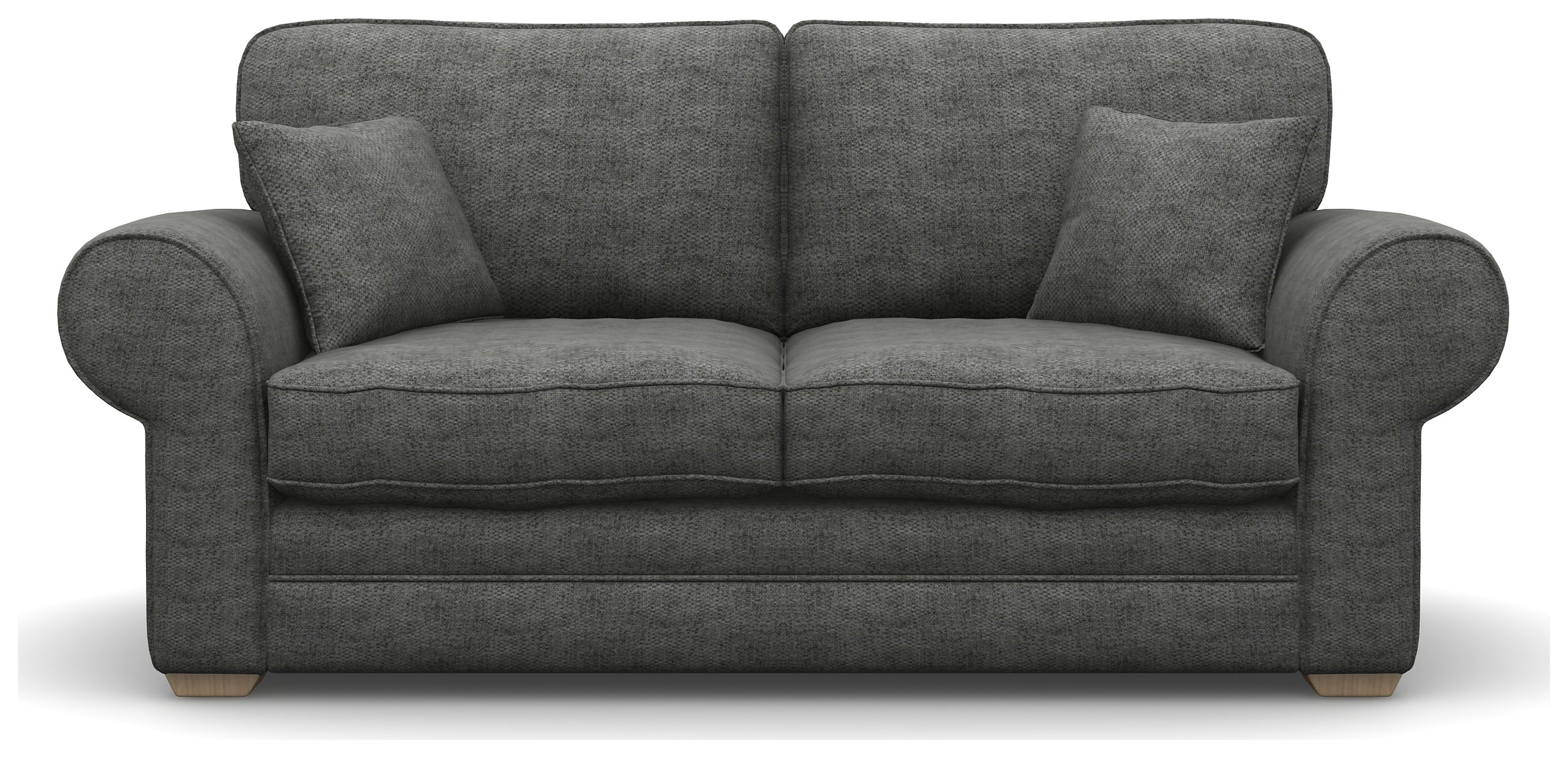 Heart of House Chedworth 2 Seater Grey Fabric Sofa Bed