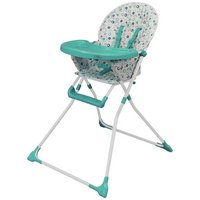 BeBe - Fold Ez 123 - Highchair - Blue Bubbles