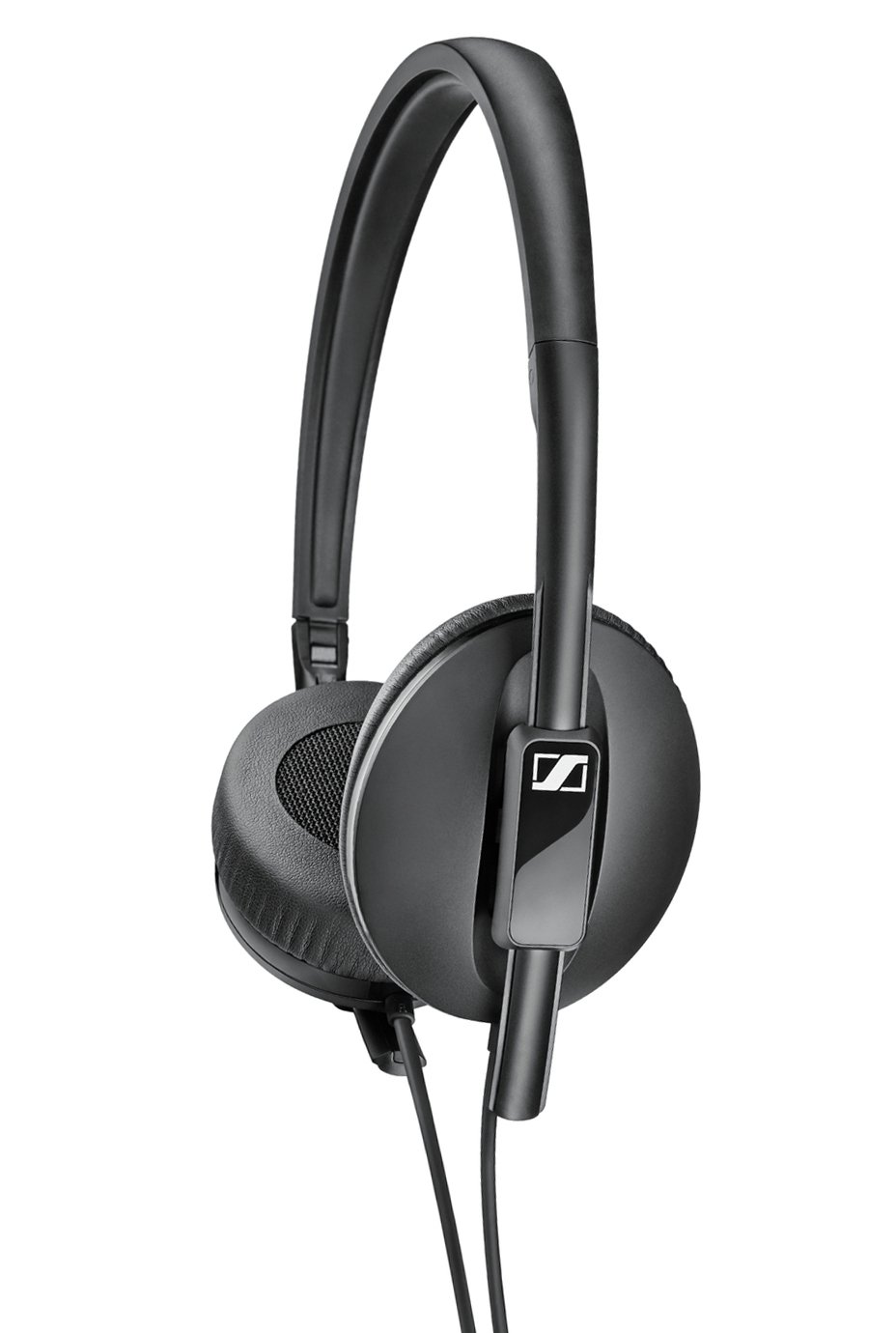 Sennheiser HD 2.10 On-Ear Foldable Headphones - Black