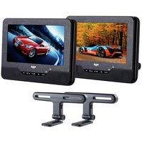Bush 7 Inch Dual Screen In Car DVD Player