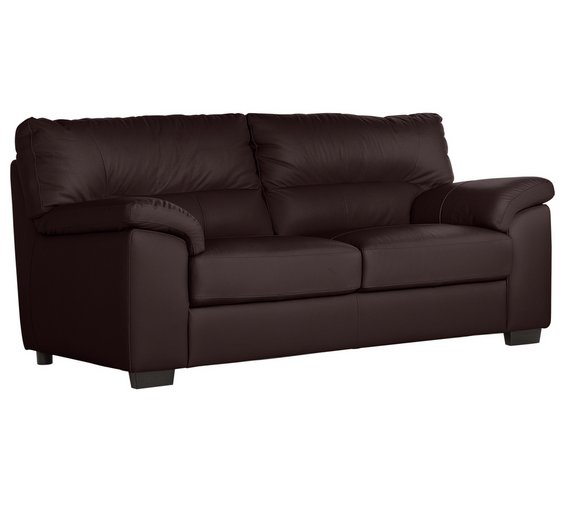 Buy Collection Piacenza 3 Seater Leather Sofa