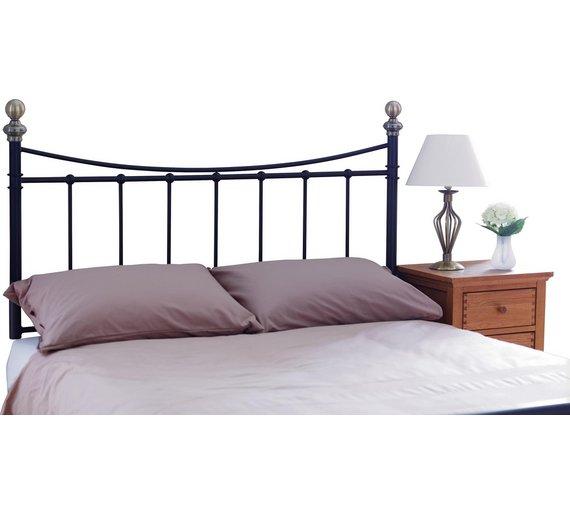 buy alderley double headboard black at your online shop for headboards bedroom. Black Bedroom Furniture Sets. Home Design Ideas