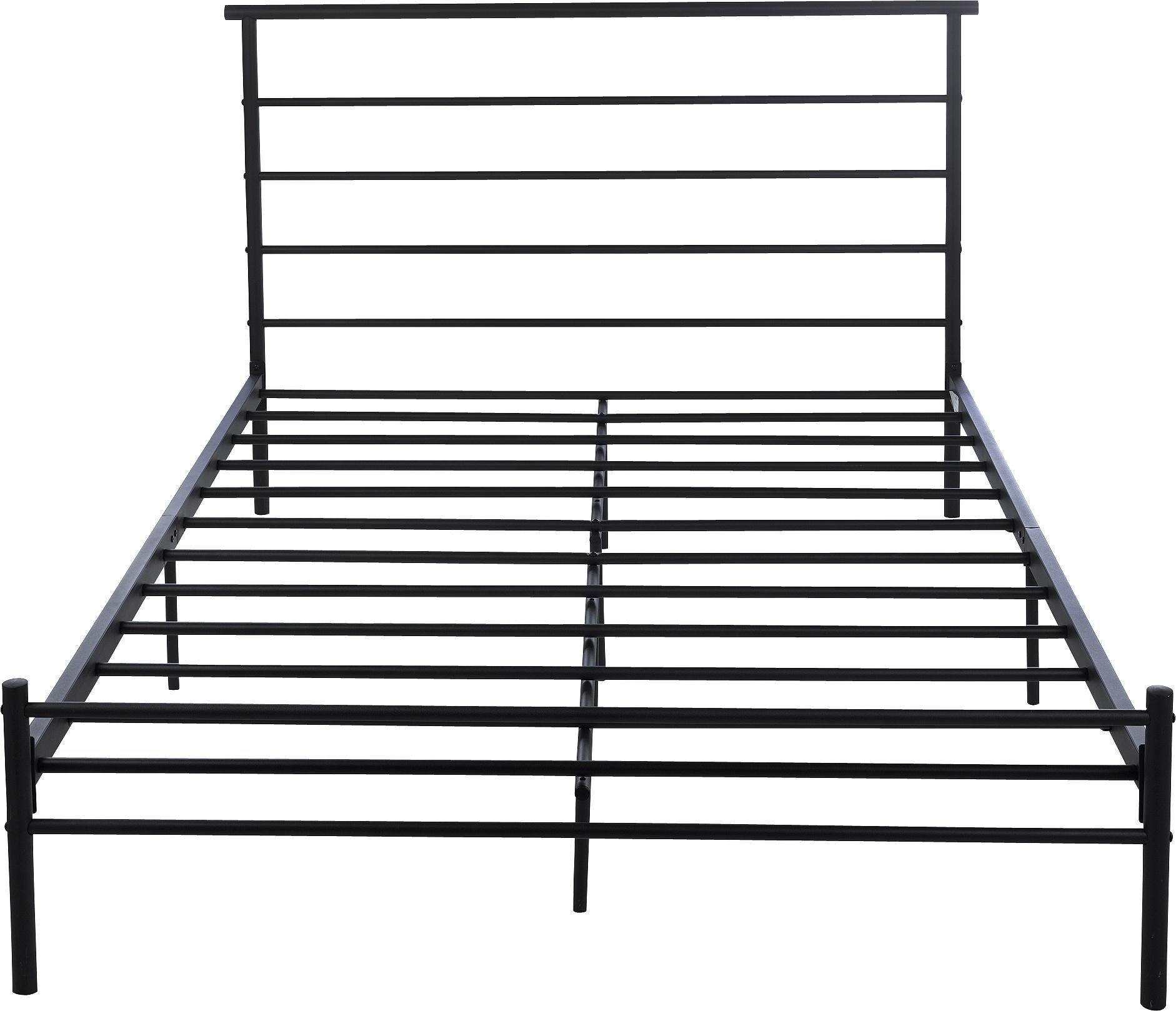 Buy HOME Avalon Double Bed Frame Black at Argoscouk Your