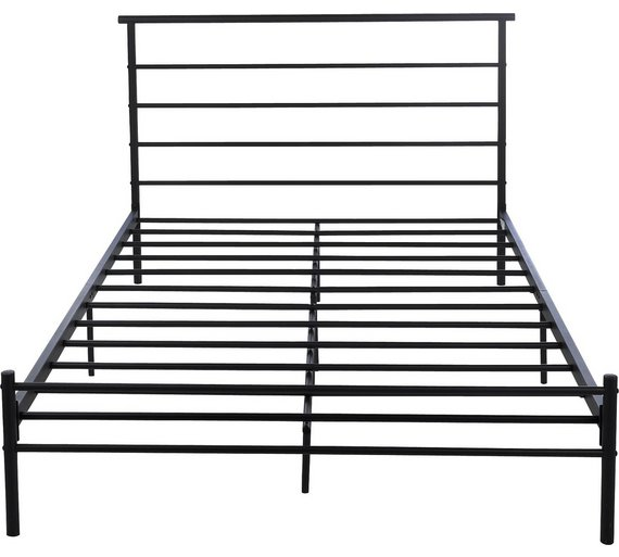 Argos Black Metal Bed Frame Instructions