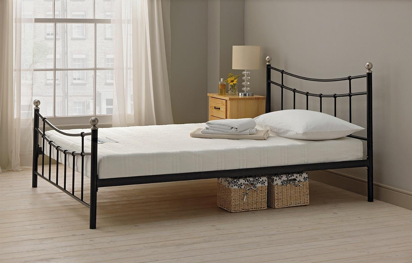 Buy HOME Darla Double Bed Frame Black at Argoscouk Your