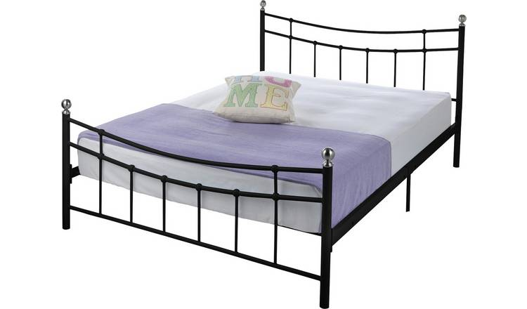 the latest 9024b b5be9 Buy Argos Home Darla Double Bed Frame - Black | Bed frames | Argos