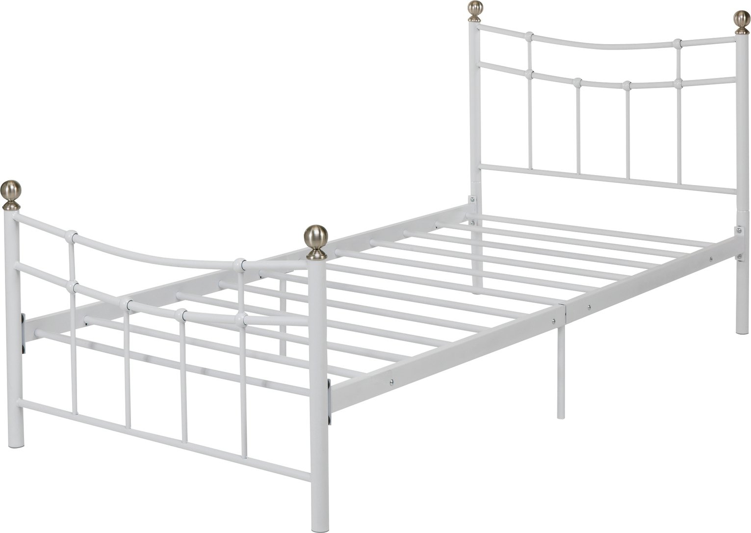 Argos Home Darla Single Bed Frame White