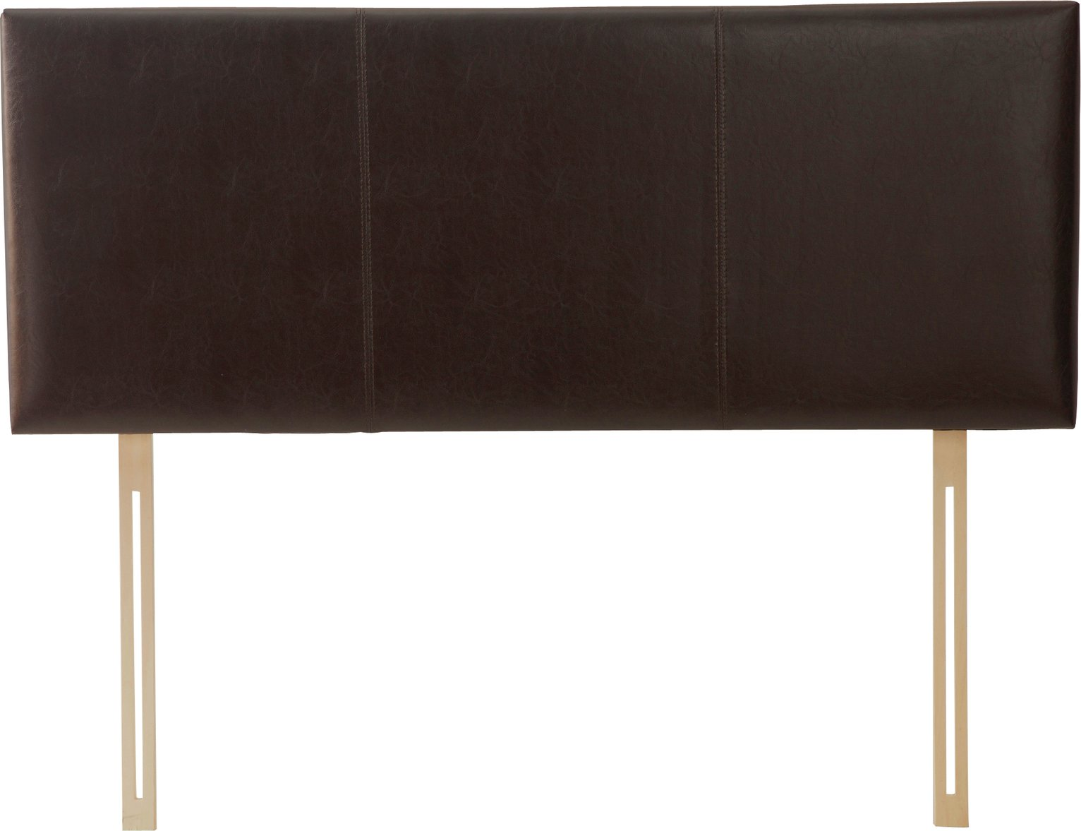 Image of Alex - Double - Headboard - Chocolate Brown