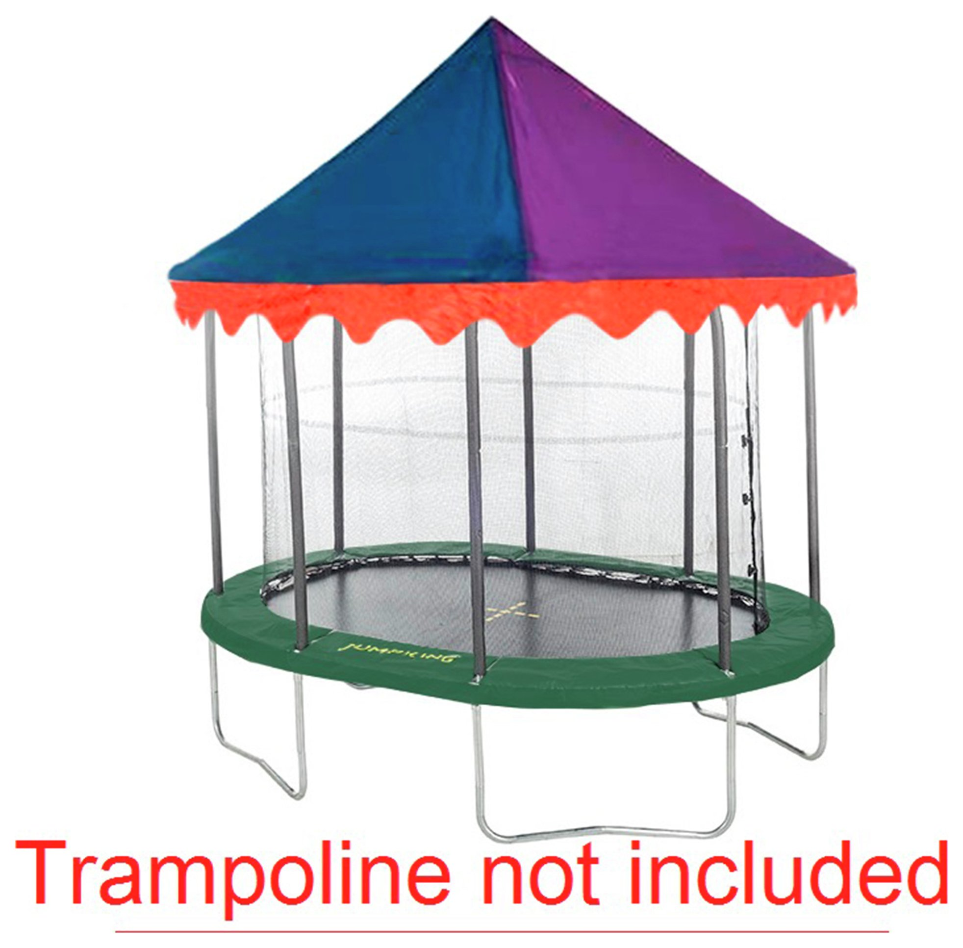 Jumpking - 7ft x 10ft Circus Tent Canopy