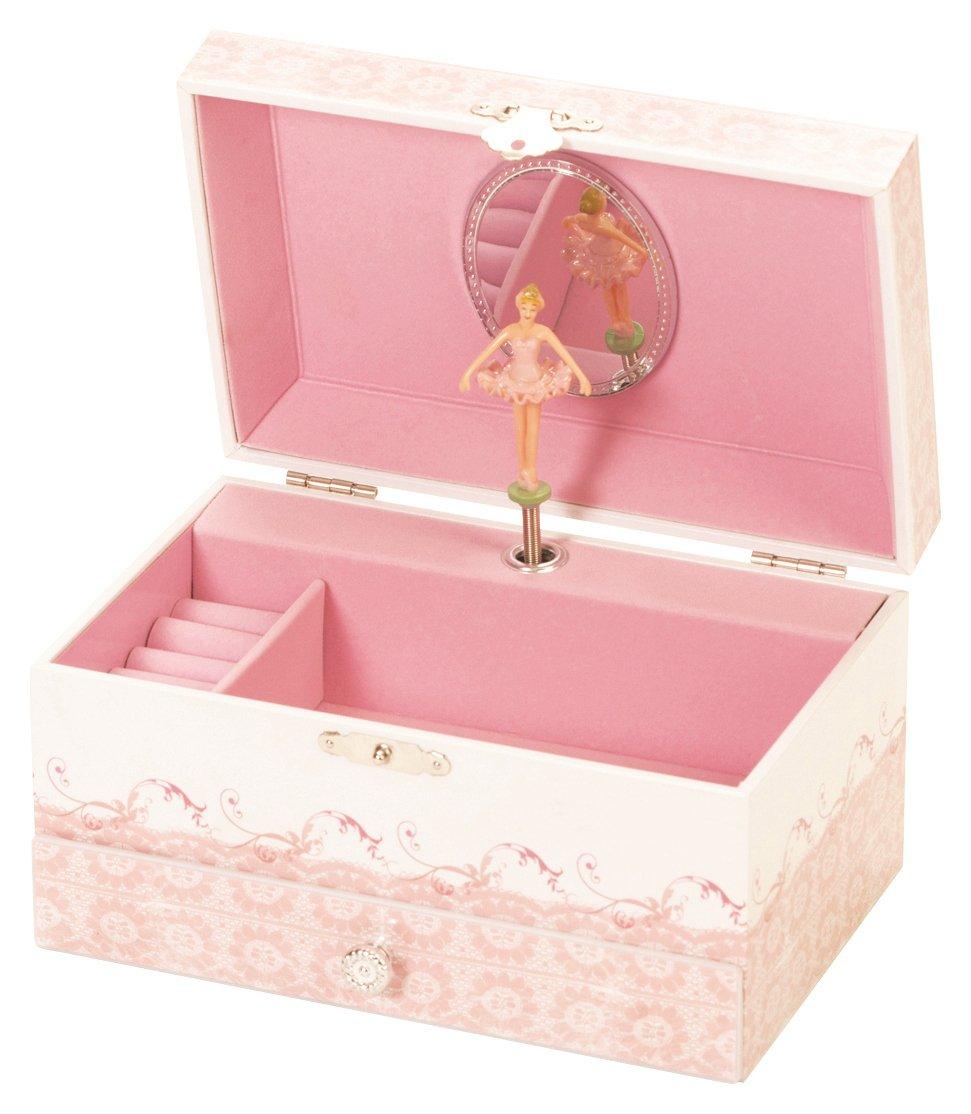 Ballet Shoe Musical Jewellery Box