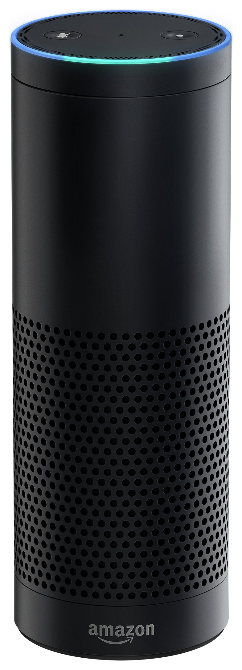 Image of Amazon Echo Multimedia Speaker with Voice Control - Black.
