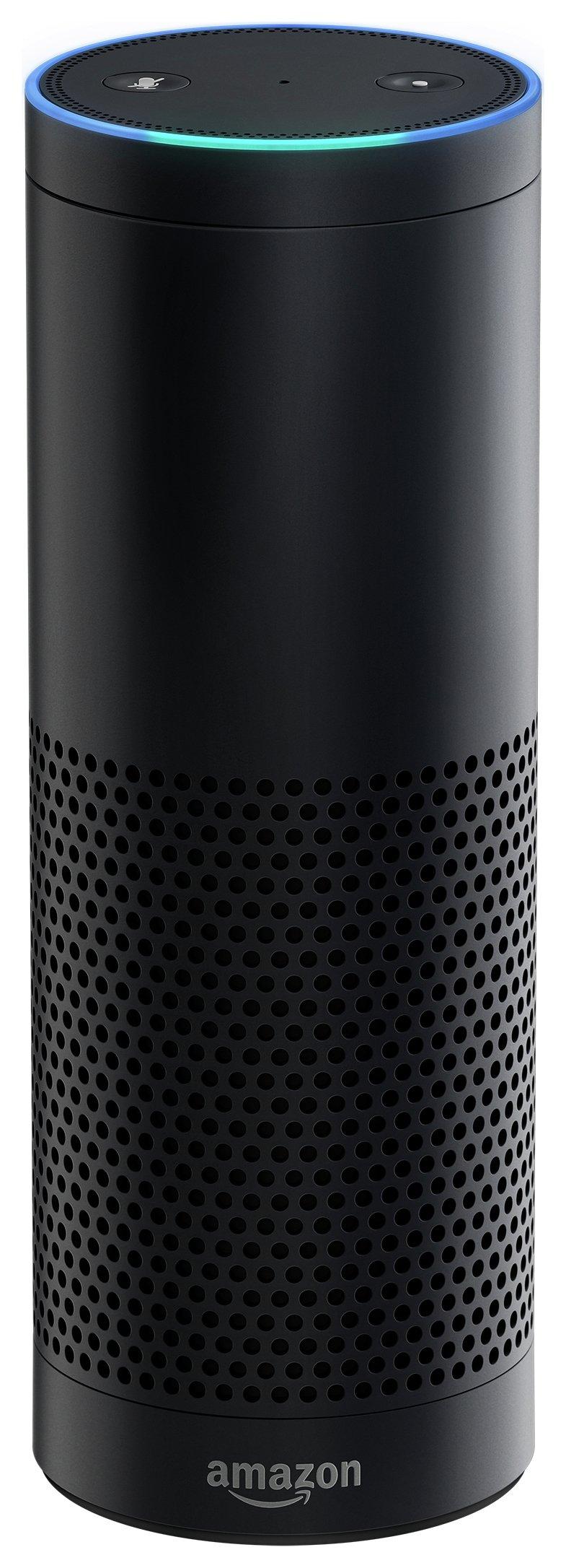 Amazon Echo Multimedia Speaker with Voice Control - Black.