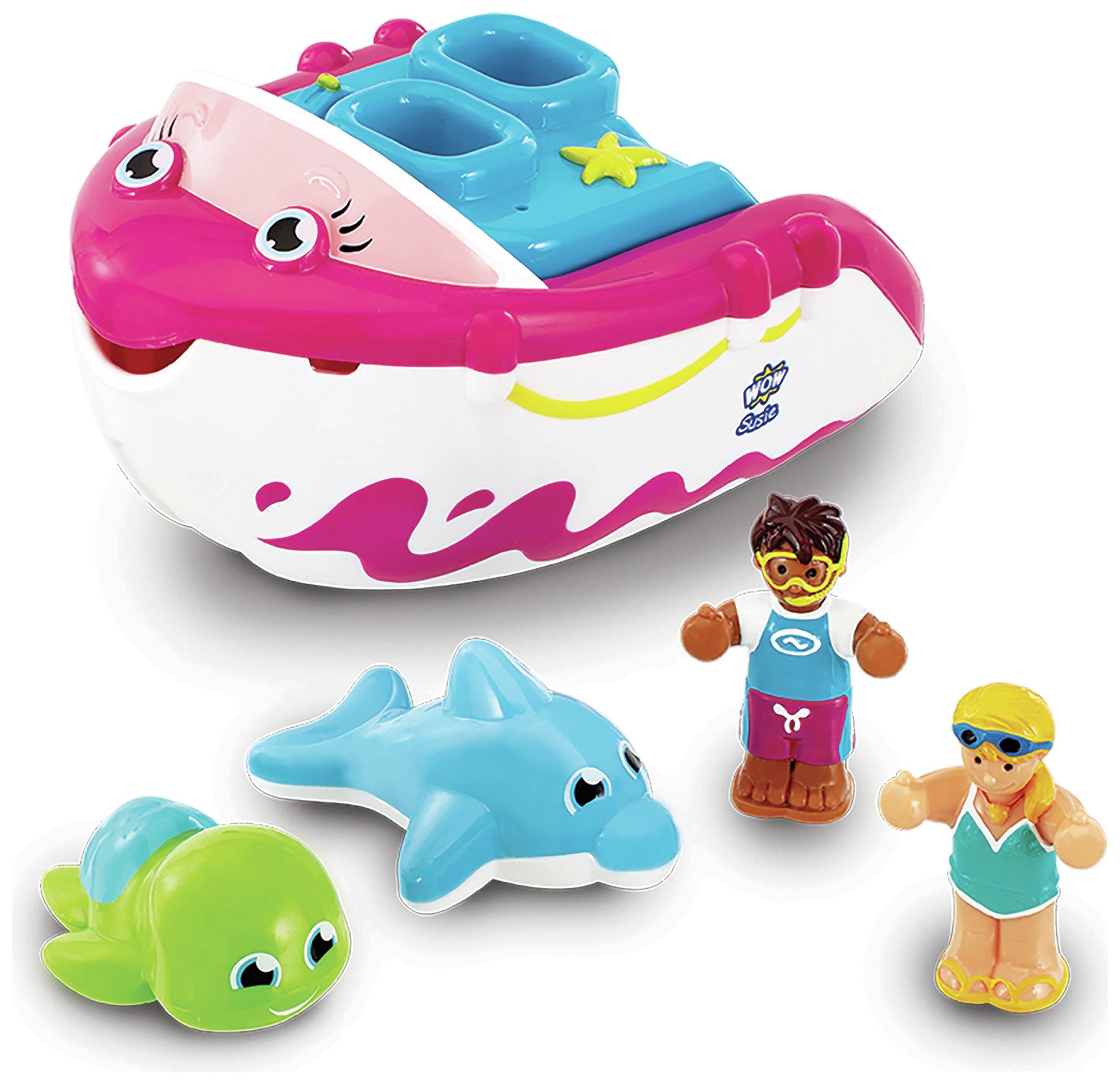 WOW Toys Susie Speedboat Bath Toy.