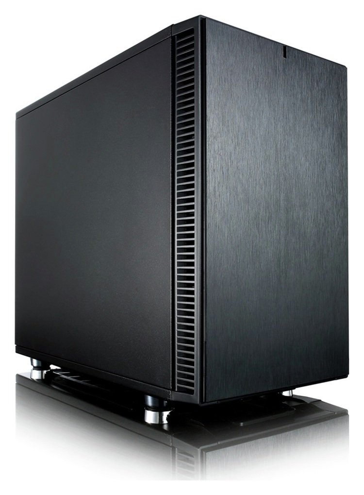 Image of Fractal Design Define Nano S PC Case - Black.