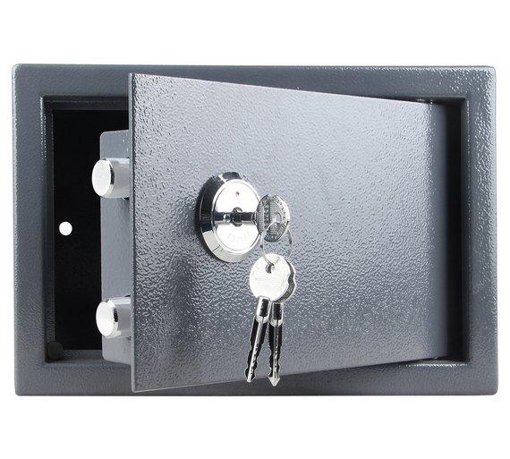 buy mechanical steel safe safes argos