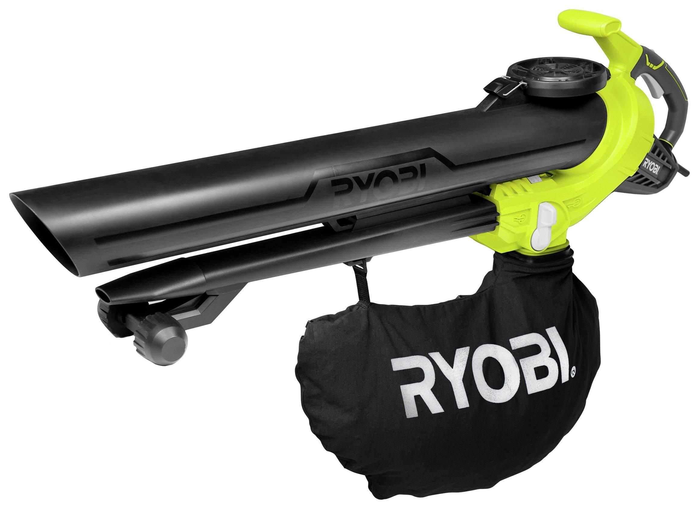 Ryobi - RBV3000CESV Corded Garden Vac - 3000W