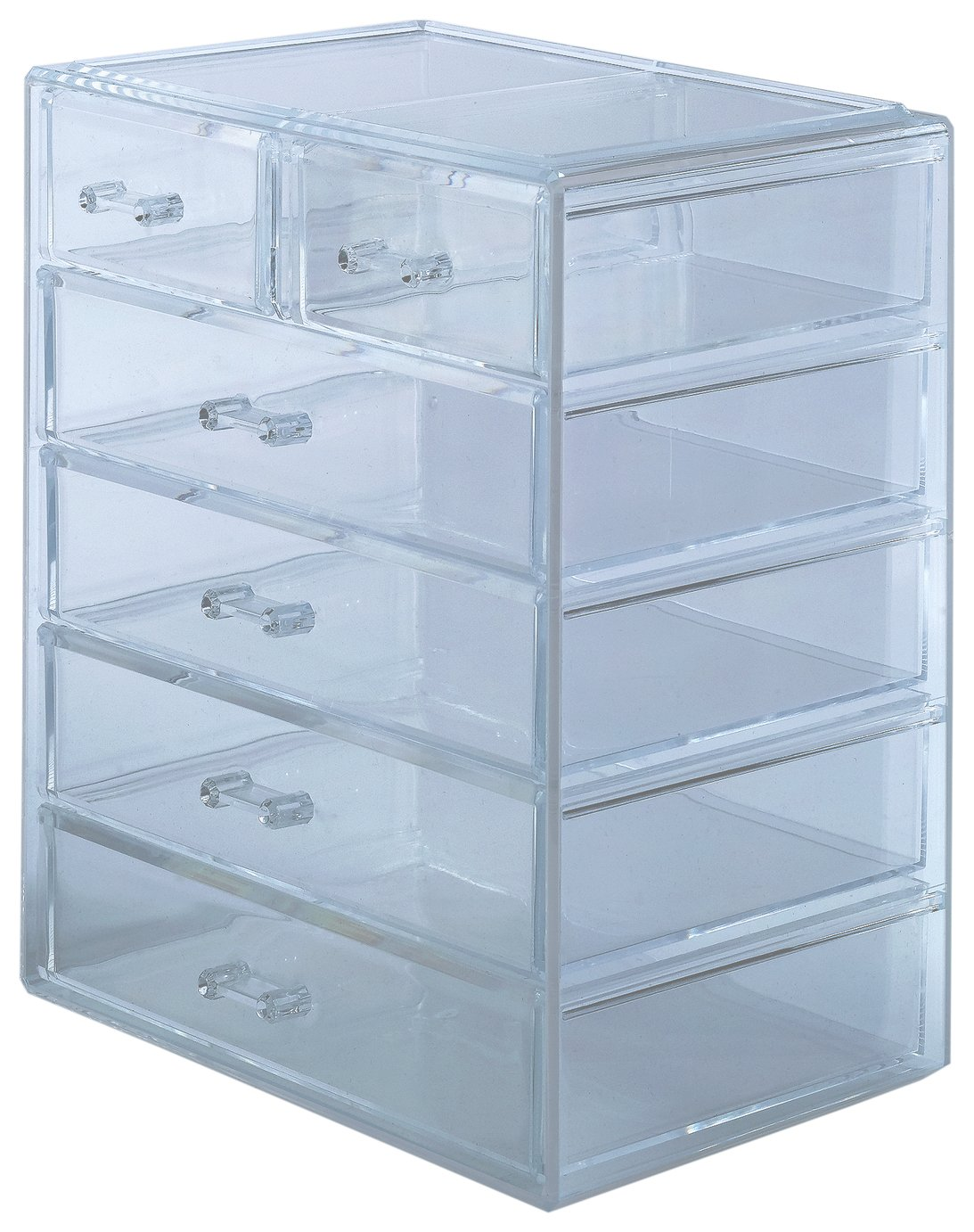 Danielle Creations Acrylic Fashion Drawer Cosmetic Organiser