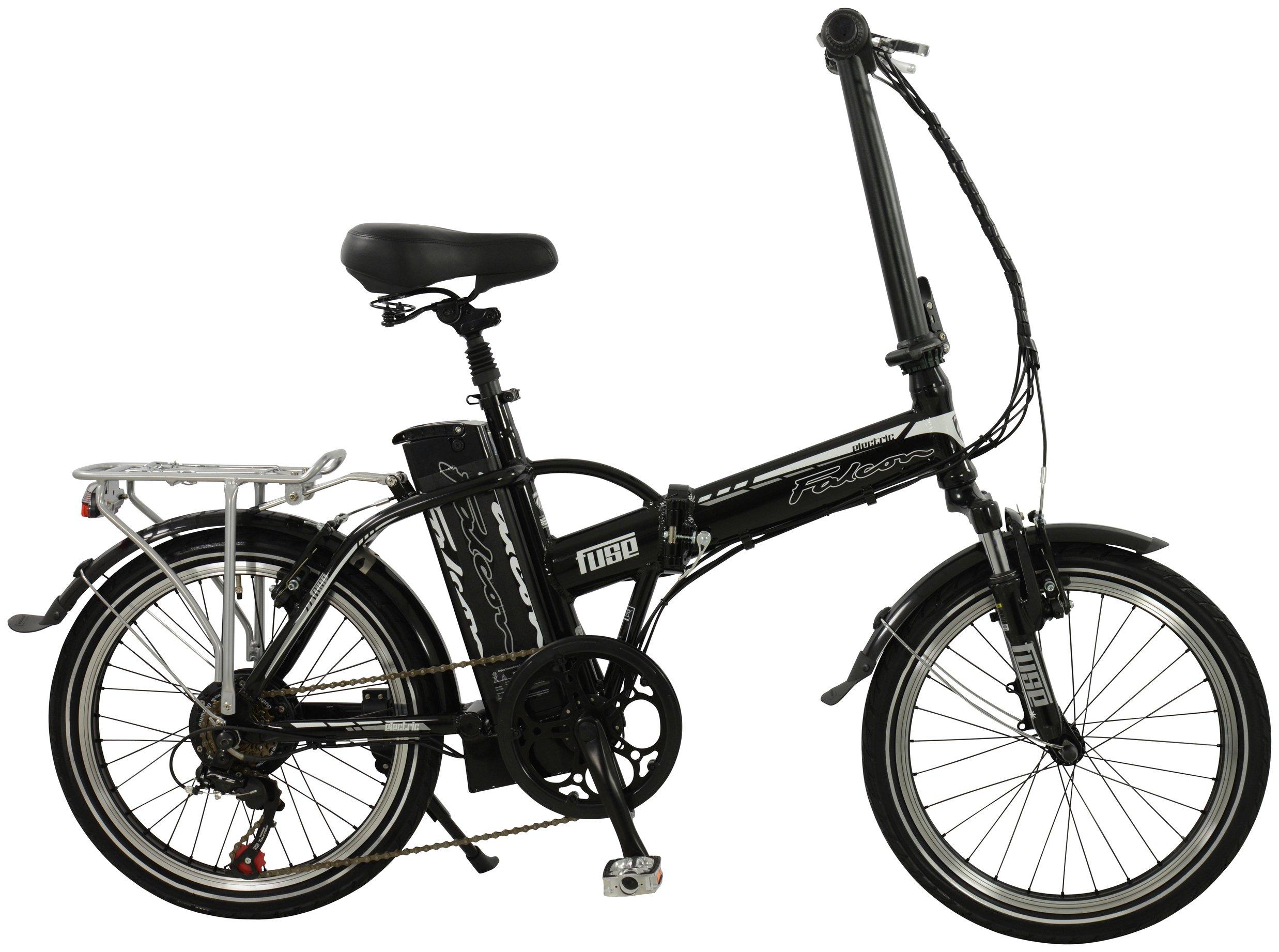 Image of Falcon Fuse Alloy Folding Electric Bike