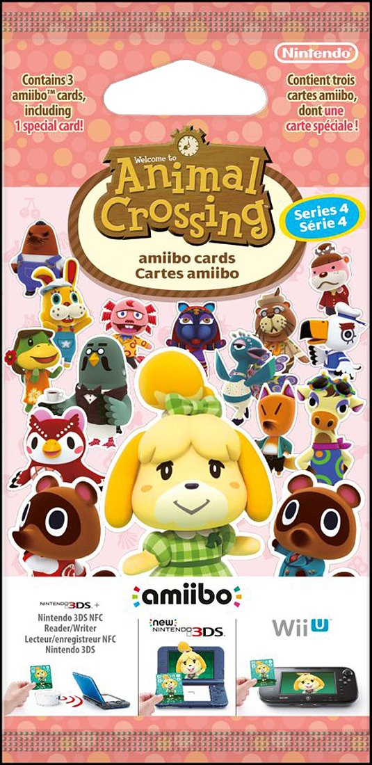Image of Animal Crossing New Leaf amiibo Card Pack