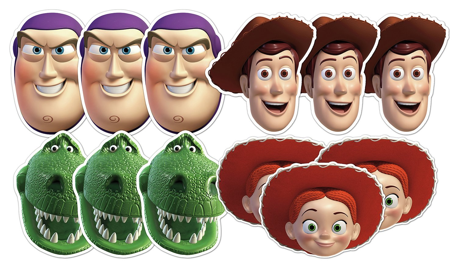 Toy Story - Woody & Friends Decorative - Cut-Outs