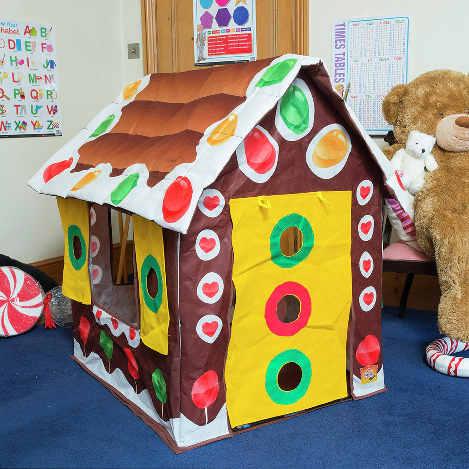 Image of Bazoongi - Gingerbread House Play Tent