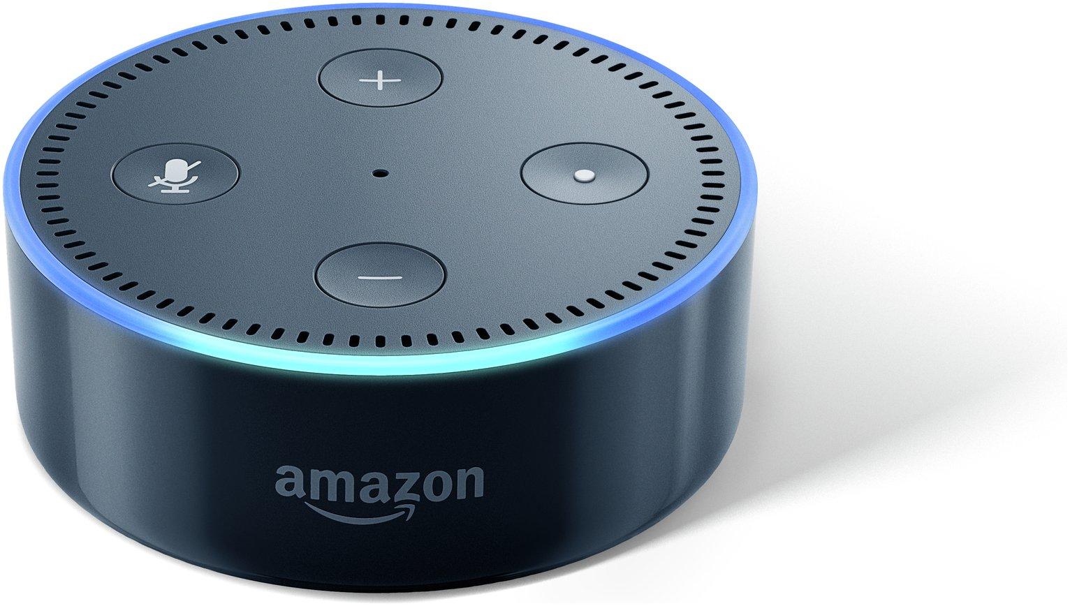 Amazon Echo Dot Multimedia Speaker - Black.