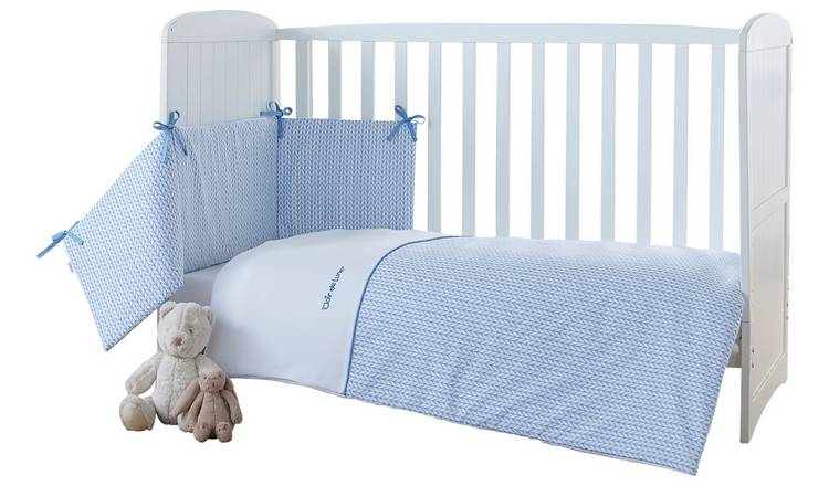 81258225015f8 Buy Clair De Lune Barley Bébé Cot Cot Bed Quilt   Bumper Set ...