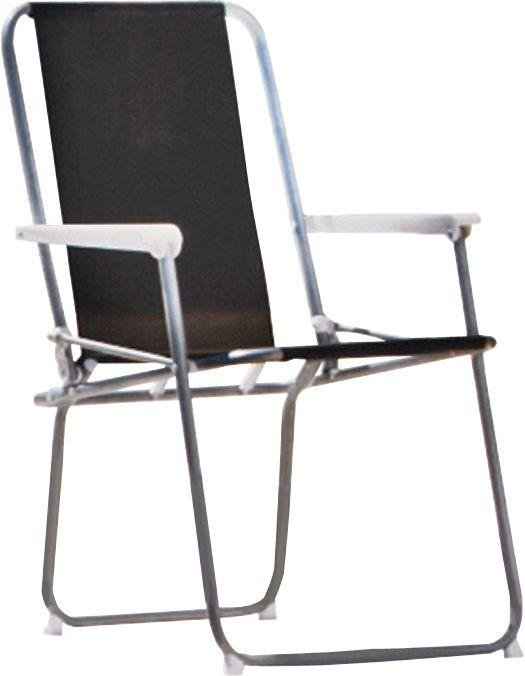 Argos Home Metal Folding Picnic Chair - Black