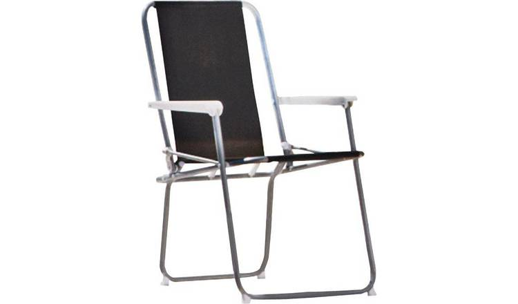 Stupendous Buy Argos Home Metal Folding Picnic Chair Black Garden Chairs And Sun Loungers Argos Ncnpc Chair Design For Home Ncnpcorg