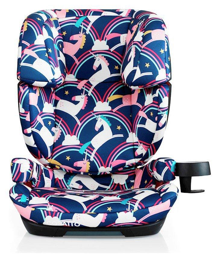 Cosatto Magic Unicorns Skippa Mix Group 2/3 Car Seat - Multi