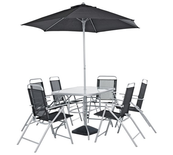 Argos Home Pacific 6 Seater Metal Patio Set - Buy Argos Home Pacific 6 Seater Metal Patio Set Garden Table And