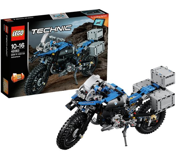buy lego technic bmw r 1200 adventure - 42063 at argos.co.uk