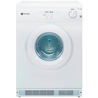 White Knight - C44A7W 7KG Vented - Tumble Dryer - White