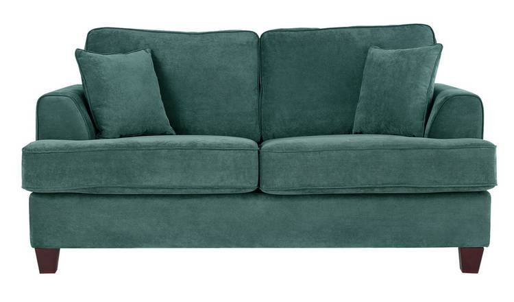 Buy Argos Home Hampstead 2 Seater Fabric Sofa Bed - Ocean Blue | Sofa beds  | Argos