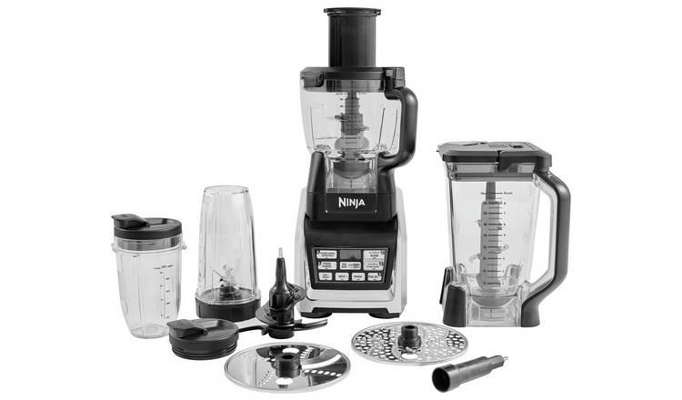 Buy Ninja 11 Piece Kitchen System With Nutri Ninja Black Food Processors Argos