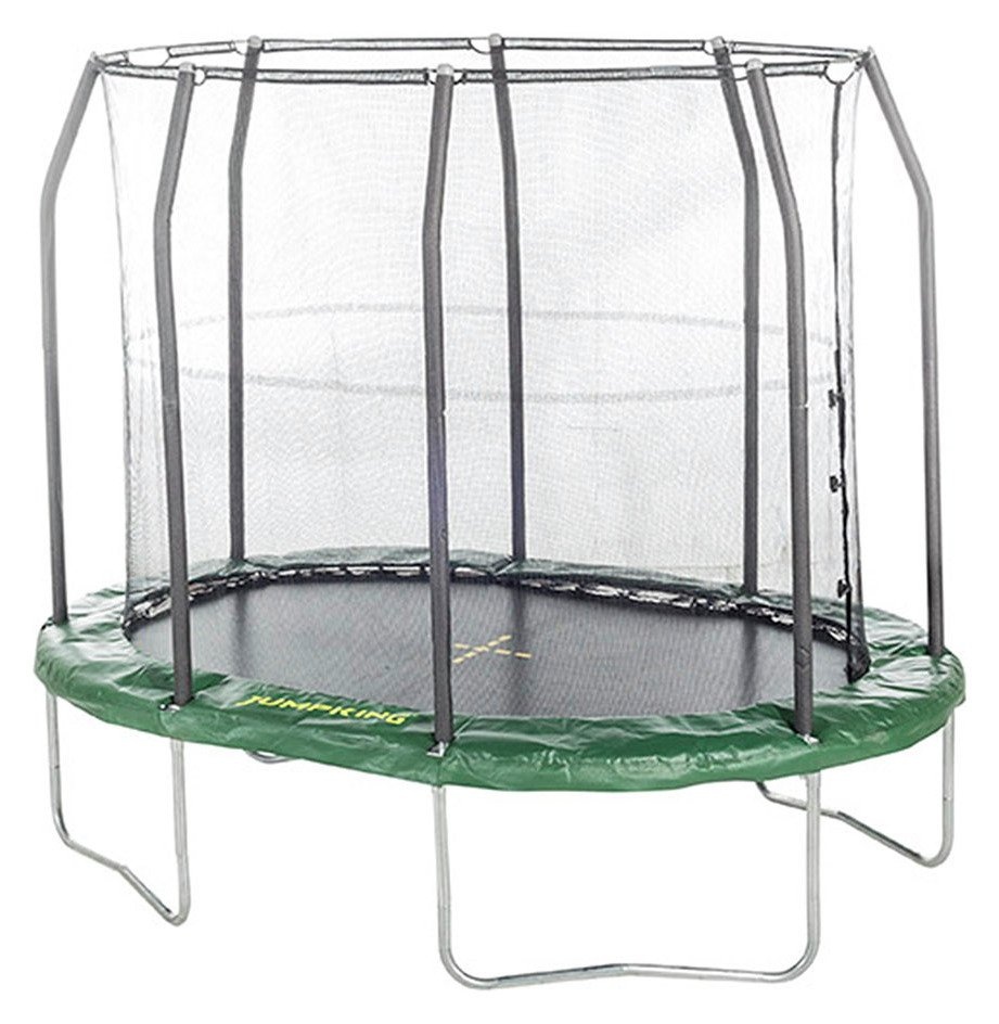 Image of Jumpking - 7ft x 10ft Premium Oval - Trampoline