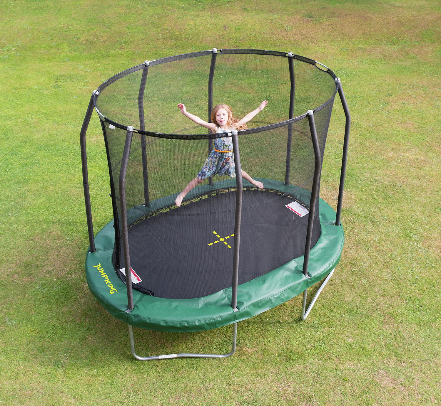 Buy Jumpking 7Ft X 10Ft Premium Oval Trampoline At Argos.Co.Uk