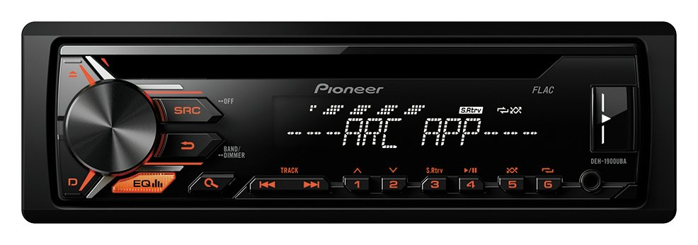 Pioneer Pioneer DEH-1900UBA FM/AM USB AUX CD Car Stereo.