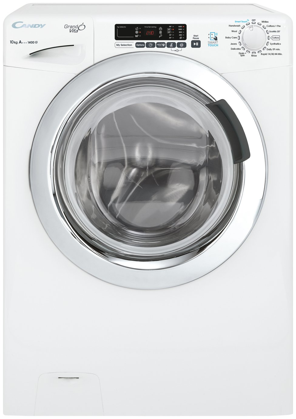 Image of Candy - GVS1410DC3 10KG 1400 Spin - Washing Machine - White
