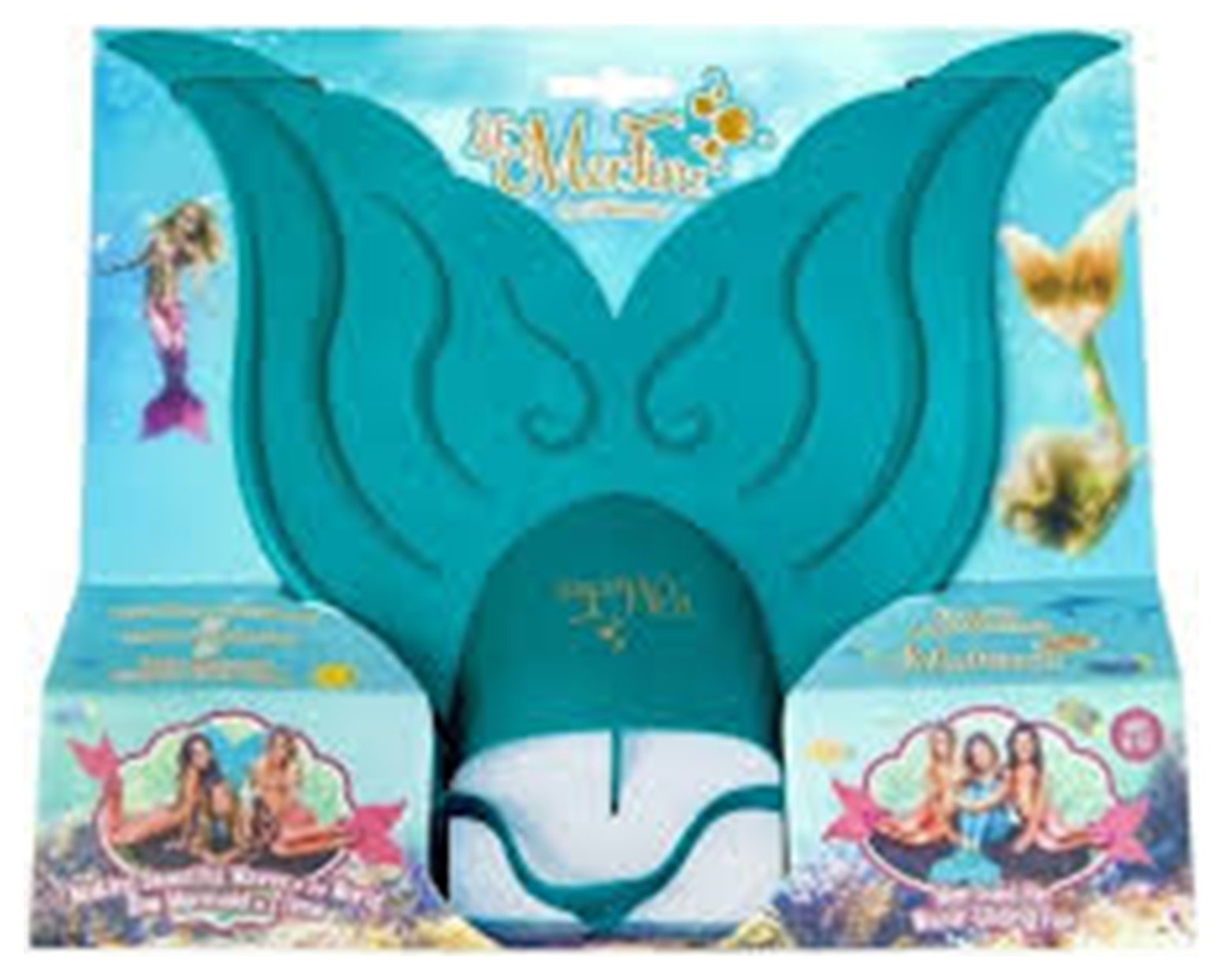 Image of Mahina Mer'Fins Lil Merfin - Aqua.
