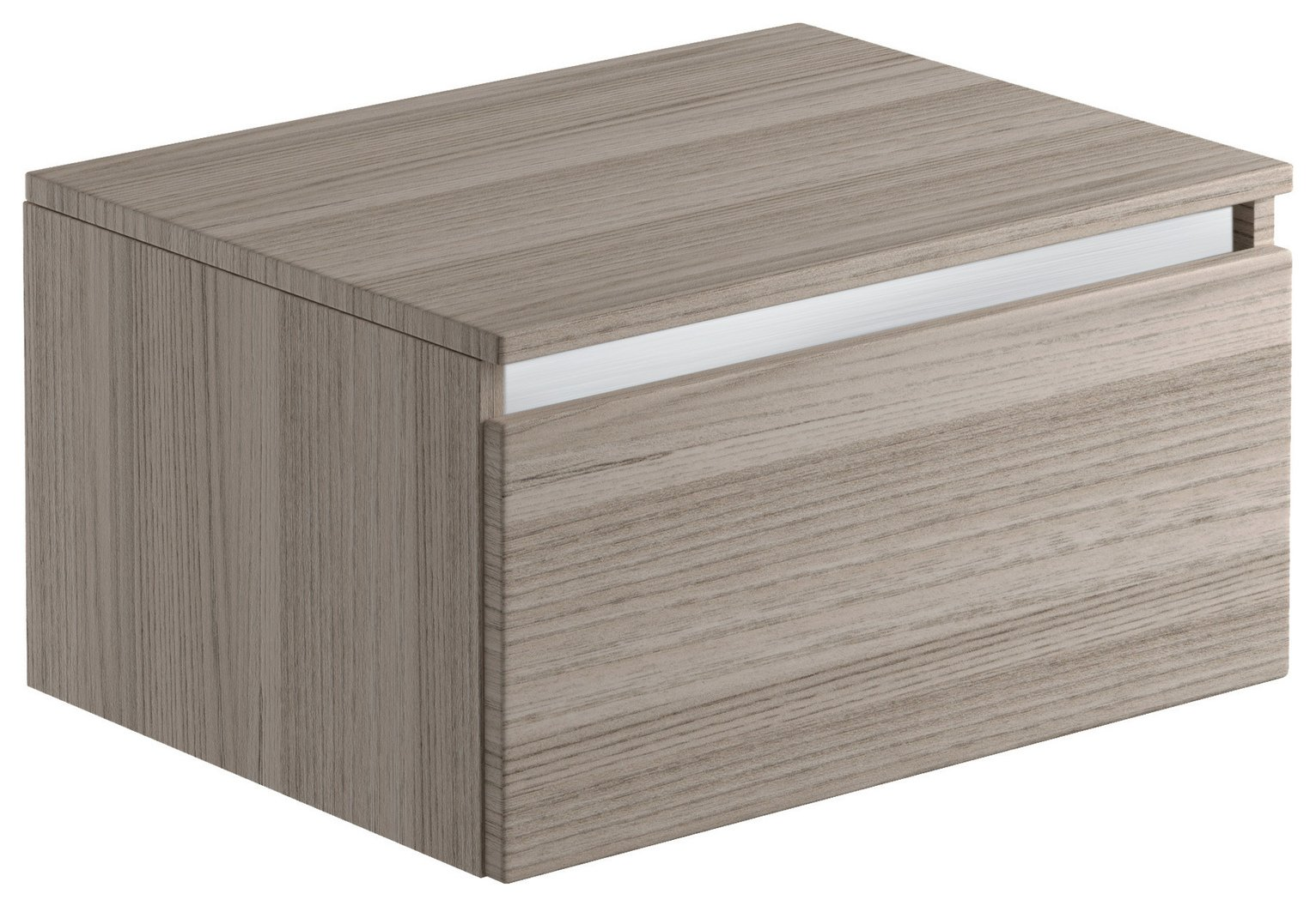 Lavari 1 Drawer Unit - Grey Drift