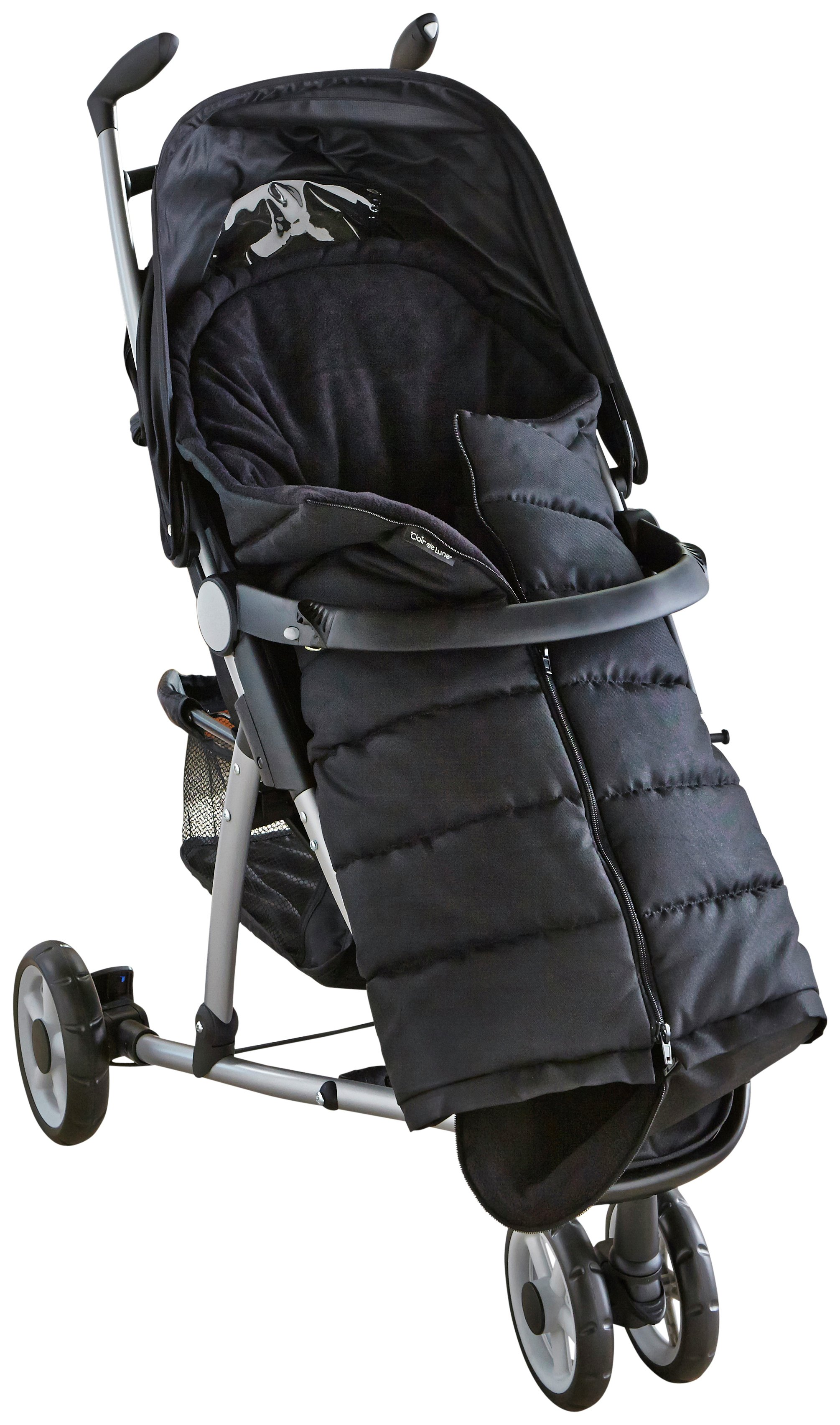 Image of Clair De Lune Cocoon - Footmuff - Black