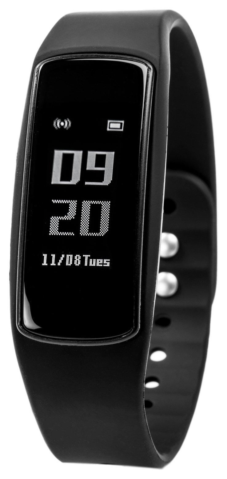 Nuband Flash Heart Rate Activity & Sleep Tracker - Black