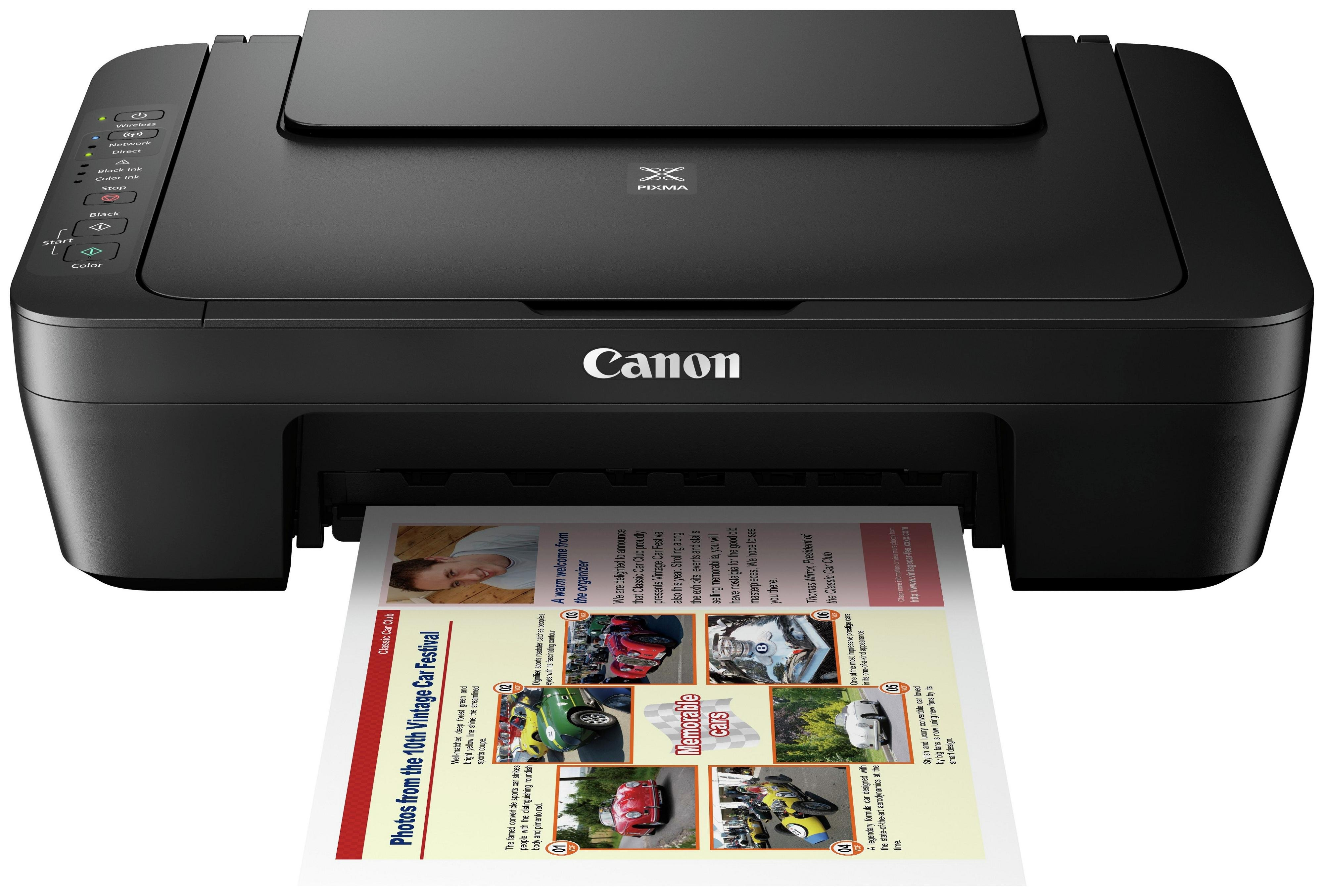 Image of Canon Pixma MG3050 All-In-One Printer
