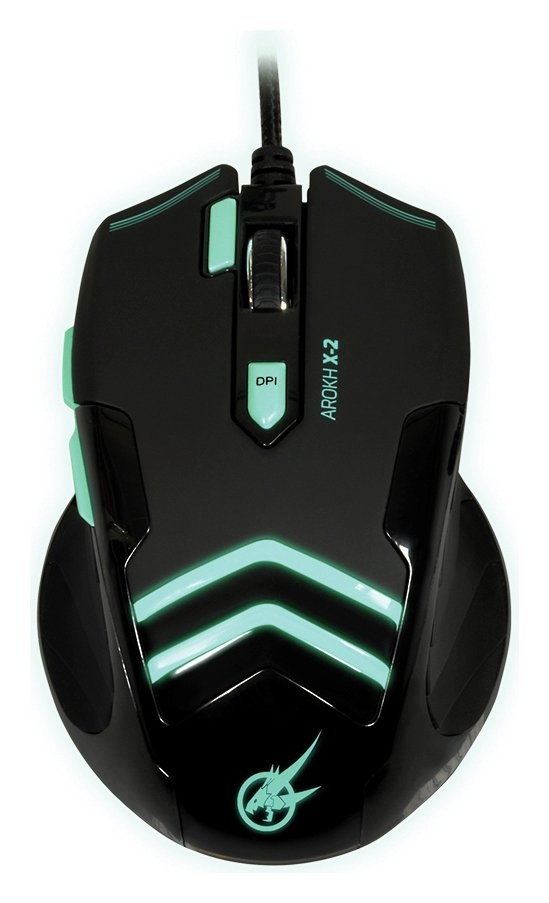 Image of Arokh Gaming Mouse - Green